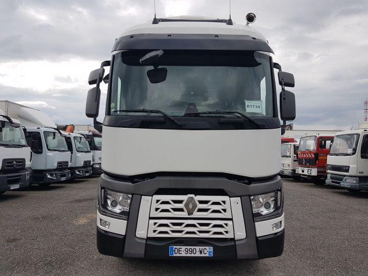 Trucks Renault T Curtain side body 380.19 COMFORT BLANC - BLEU - 6