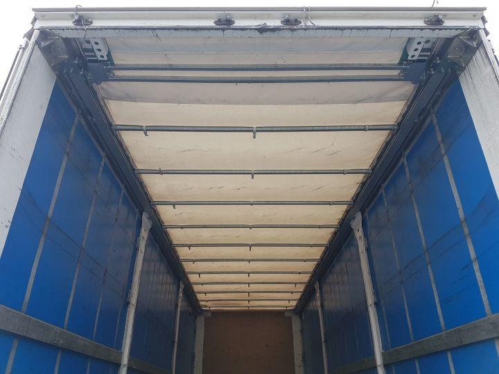 Trucks Renault T Curtain side body 380.19 COMFORT BLANC - BLEU - 9