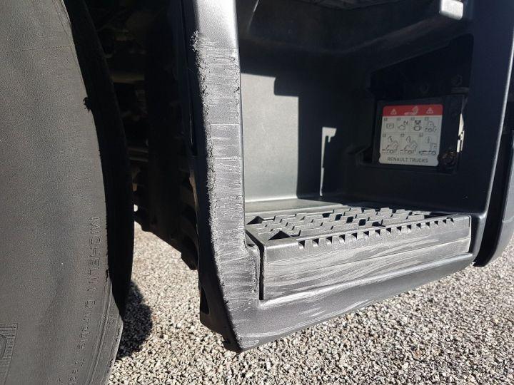 Trucks Renault T Curtain side body 380.19 COMFORT BLANC - BLEU - 14