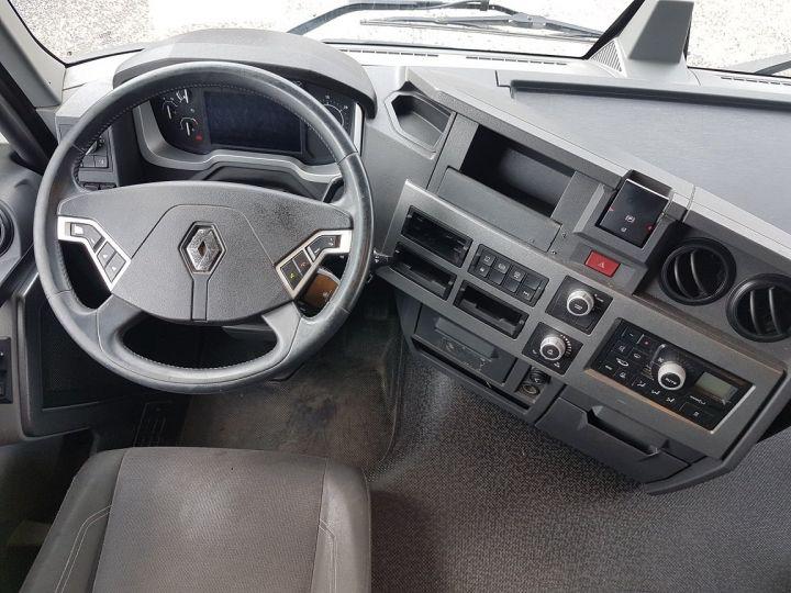 Trucks Renault T Curtain side body 380.19 COMFORT BLANC - BLEU - 21