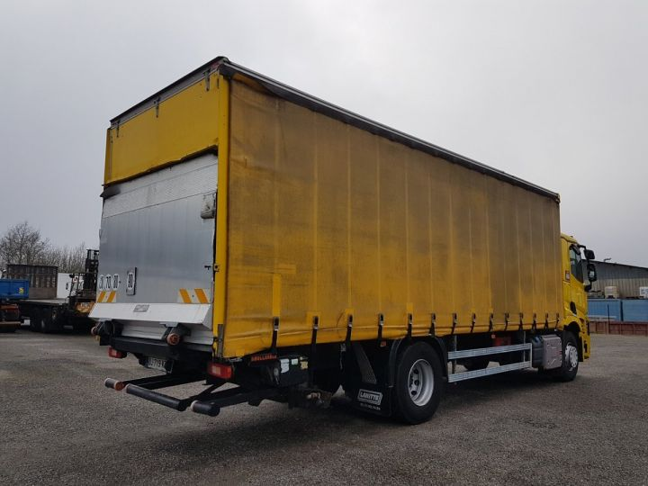 Trucks Renault T Curtain side body 460.19 JAUNE - 2