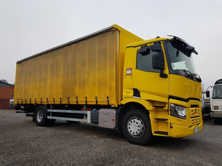 Trucks Renault T Curtain side body 460.19 JAUNE - 4