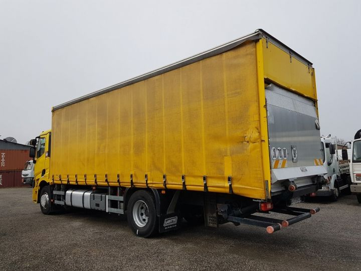 Trucks Renault T Curtain side body 460.19 JAUNE - 5