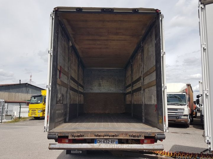 Trucks Volvo FH13 Curtain side body 500 + SAMRO 3 essieux (2002) - COMBI 110m3 BLANC - 8