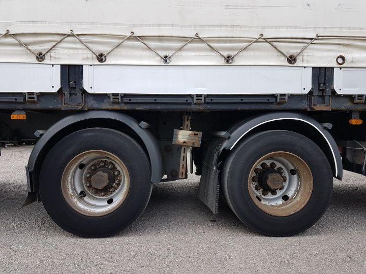 Trucks Volvo FH13 Curtain side body 500 + SAMRO 3 essieux (2002) - COMBI 110m3 BLANC - 13