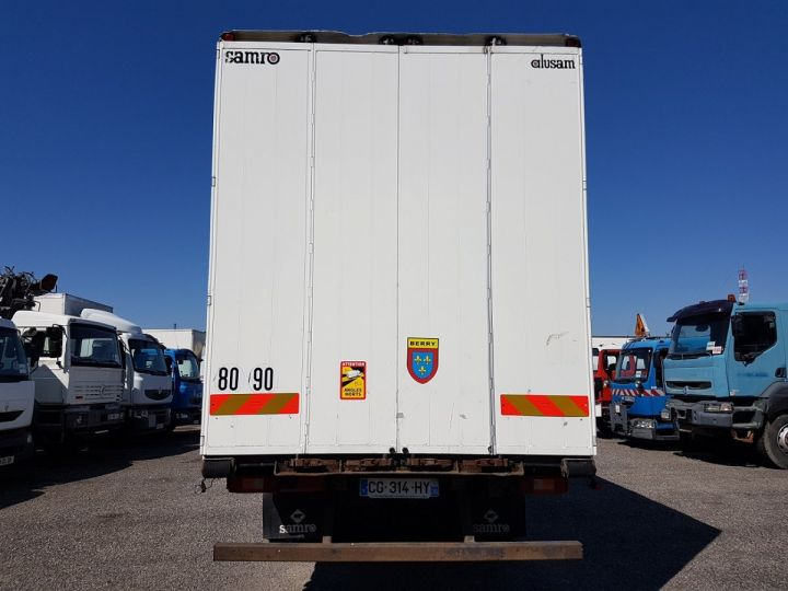 Trucks Volvo FH13 Curtain side body 500 + SAMRO 3 essieux (2002) - COMBI 110m3 BLANC - 6