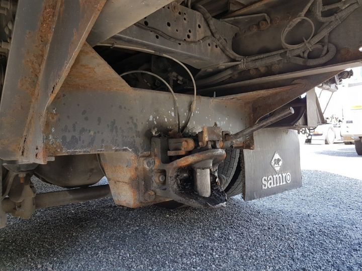Trucks Volvo FH13 Curtain side body 500 + SAMRO 3 essieux (2002) - COMBI 110m3 BLANC - 10