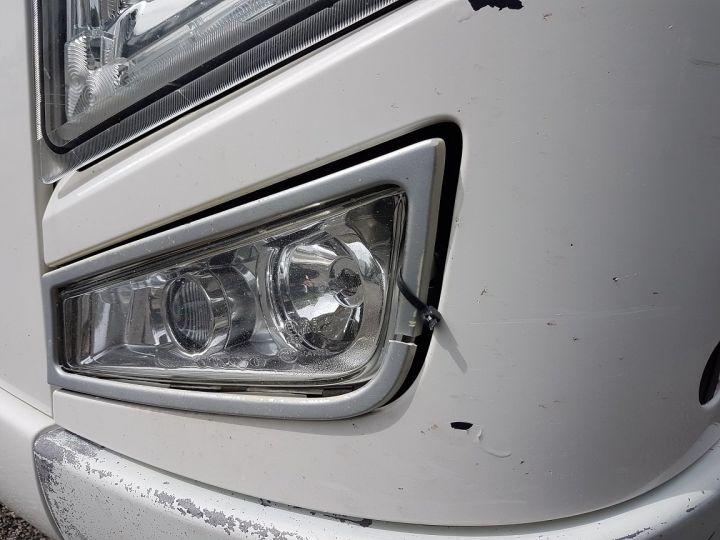 Trucks Volvo FH13 Curtain side body 500 + SAMRO 3 essieux (2002) - COMBI 110m3 BLANC - 11