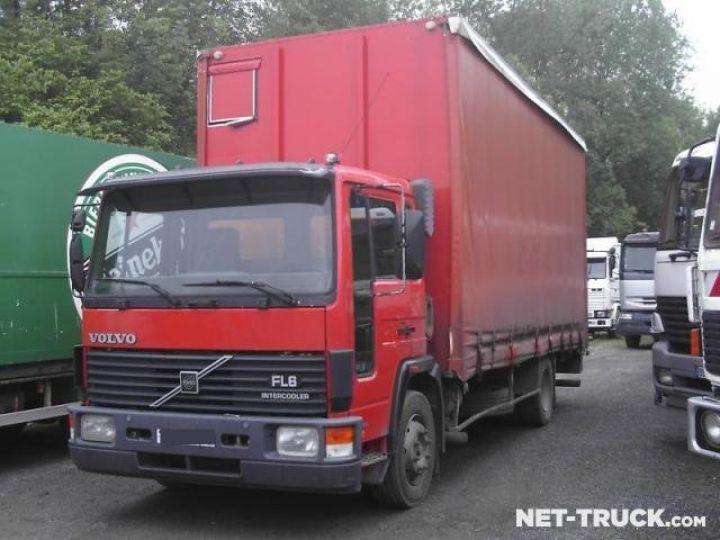 Trucks Volvo FL Curtain side body  - 1