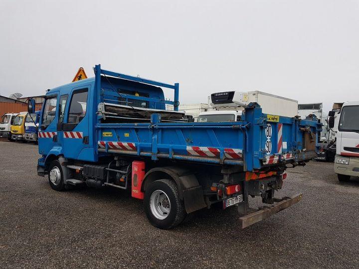 Trucks Renault Midlum Double Cab Back Dump/Tipper body 220dci.12 TRI-BENNE / 7 PLACES BLEU - 5