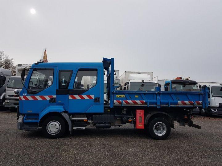 Trucks Renault Midlum Double Cab Back Dump/Tipper body 220dci.12 TRI-BENNE / 7 PLACES BLEU - 14