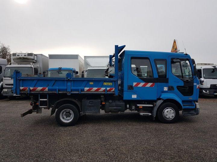 Trucks Renault Midlum Double Cab Back Dump/Tipper body 220dci.12 TRI-BENNE / 7 PLACES BLEU - 15