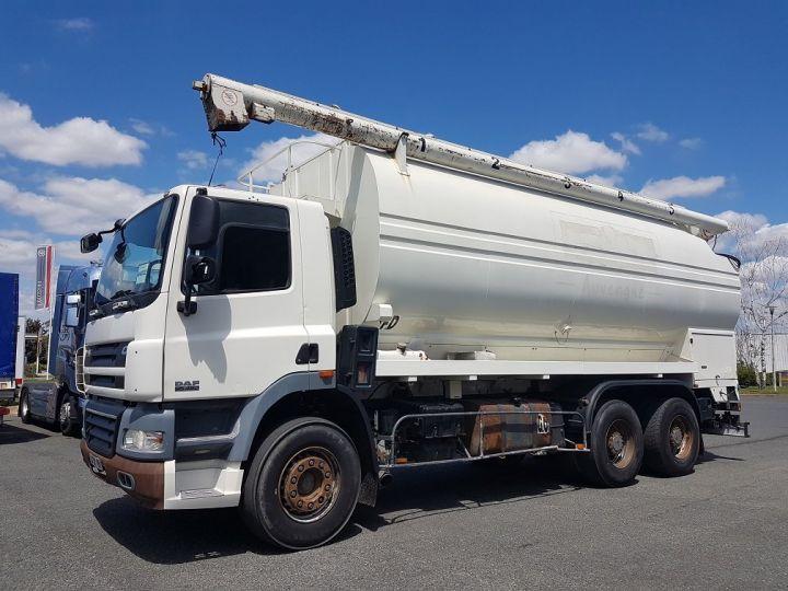 Trucks Daf CF85 Foodstufs tank body 460 6x4 BLANC - 1