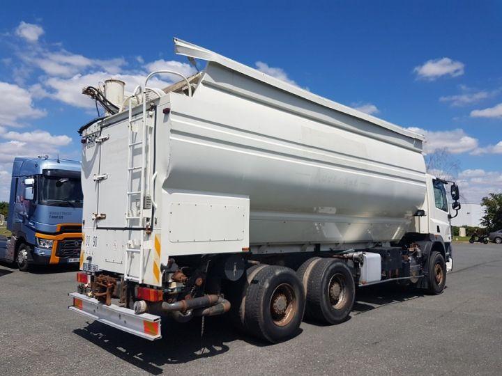 Trucks Daf CF85 Foodstufs tank body 460 6x4 BLANC - 2