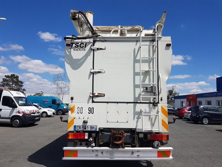 Trucks Daf CF85 Foodstufs tank body 460 6x4 BLANC - 5