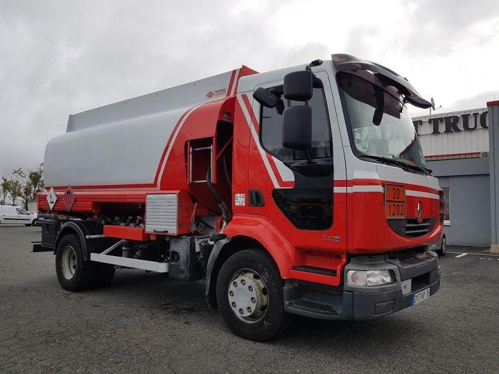 Trucks Renault Midlum Fuel tank body 280dxi.16 - 11000 litres BLANC - ROUGE - 3
