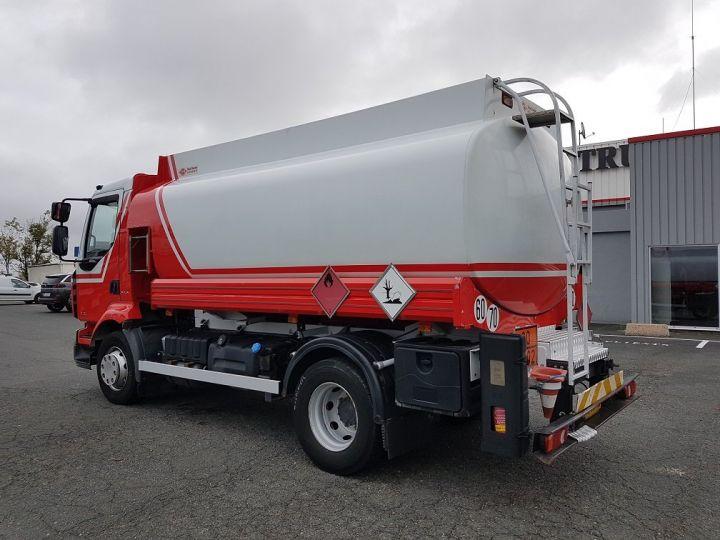 Trucks Renault Midlum Fuel tank body 280dxi.16 - 11000 litres BLANC - ROUGE - 4