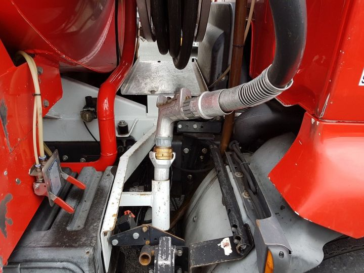 Trucks Renault Midlum Fuel tank body 280dxi.16 - 11000 litres BLANC - ROUGE - 8
