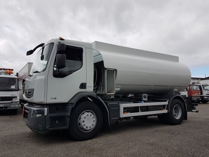 Trucks Renault Premium Fuel tank body 310dxi.19 BLANC - 1