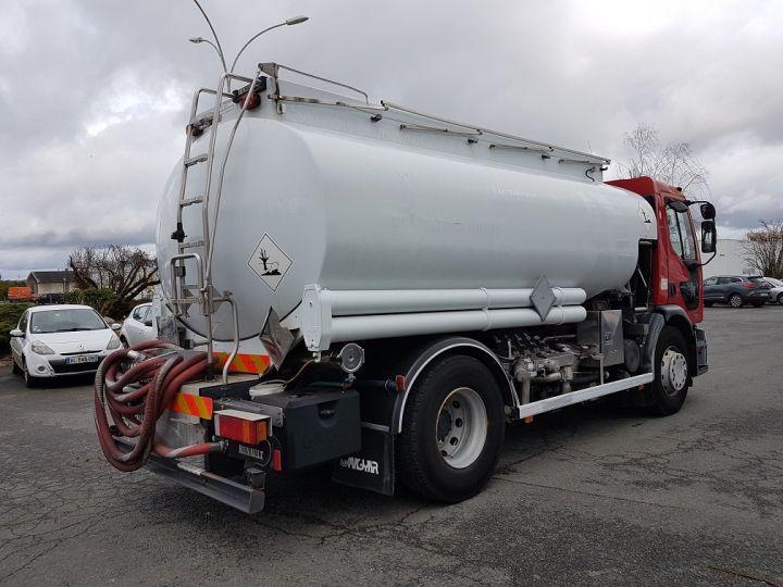 Trucks Renault Premium Fuel tank body 320dci.19D CITERNE A HUILE ROUGE et BLANC - 2