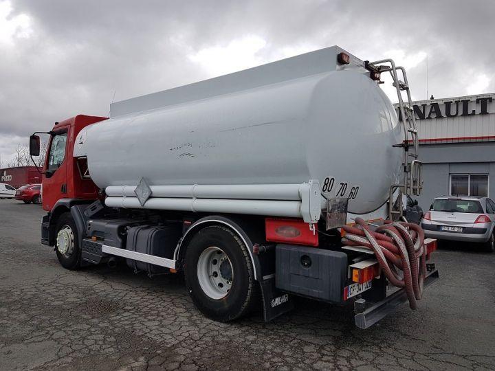 Trucks Renault Premium Fuel tank body 320dci.19D CITERNE A HUILE ROUGE et BLANC - 4