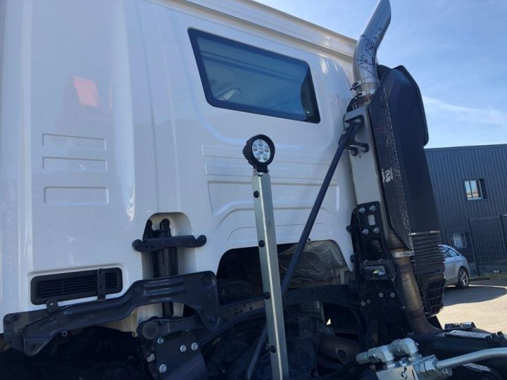 Trucks Scania G Hookloader Ampliroll body 410 BLANC - 4