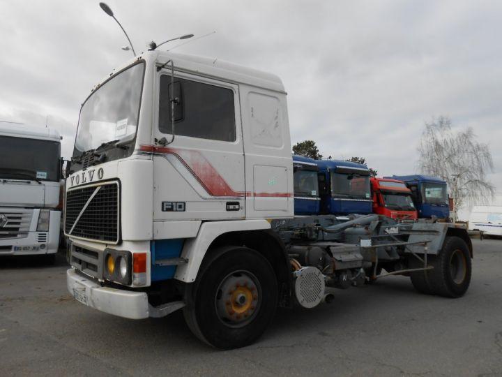 Trucks Volvo F Hookloader Ampliroll body 10 4x2 GUIMA 14 - A réparer BLANC - 1