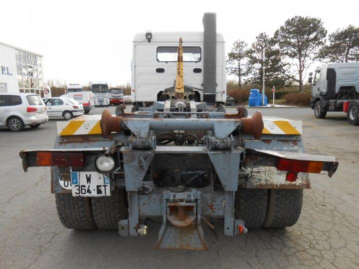 Trucks Volvo F Hookloader Ampliroll body 10 4x2 GUIMA 14 - A réparer BLANC - 6