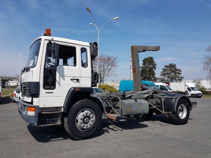 Trucks Volvo FS Hookloader Ampliroll body 719 INTERCOOLER BLANC - 1