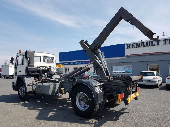Trucks Volvo FS Hookloader Ampliroll body 719 INTERCOOLER BLANC - 5