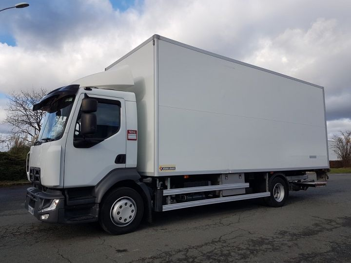 Trucks Renault D Insulated box body 12.210dti  spécial FLEURS BLANC - 1