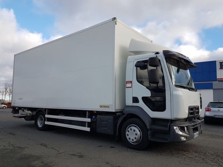 Trucks Renault D Insulated box body 12.210dti  spécial FLEURS BLANC - 4