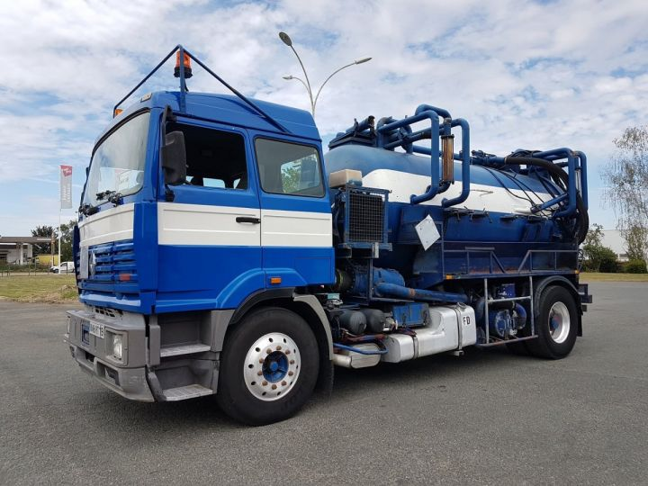 Trucks Renault Manager Jetting machine body G340ti.19 BLEU et BLANC - 1