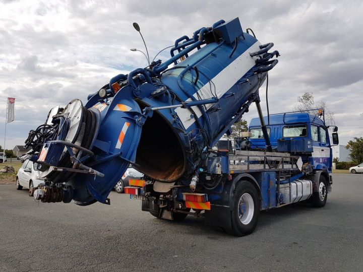 Trucks Renault Manager Jetting machine body G340ti.19 BLEU et BLANC - 4