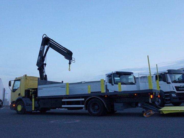 Trucks Renault Platform body + crane Jaune - 5