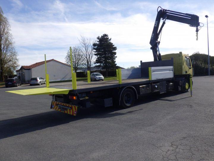 Trucks Renault Platform body + crane Jaune - 6