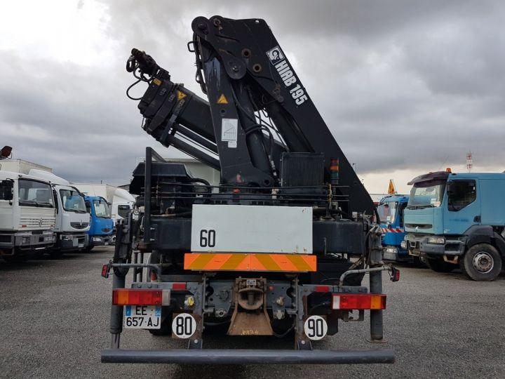 Trucks Renault Kerax Platform body + crane 370dci.26 6x4 + HIAB 195.3 BLANC - 7