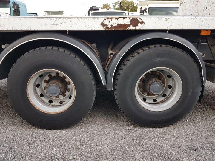 Trucks Renault Kerax Platform body + crane 370dci.26 6x4 + HIAB 195.3 BLANC - 13