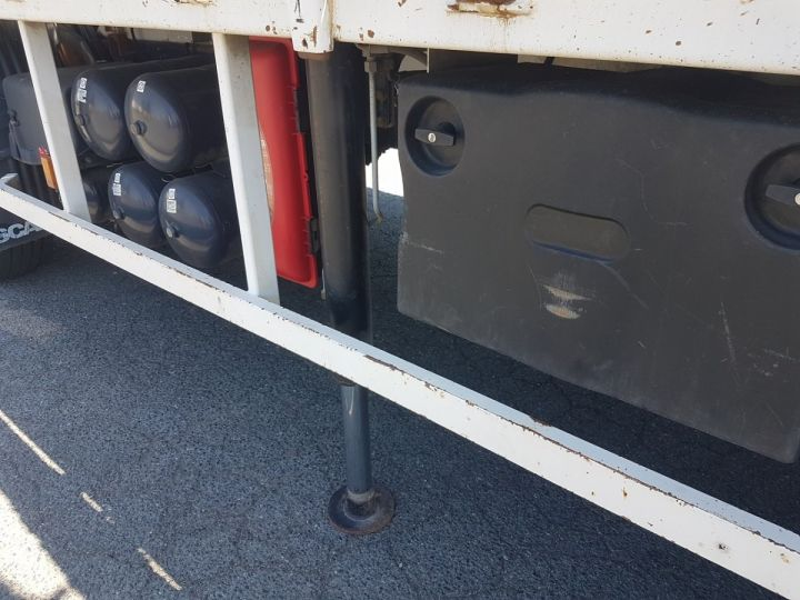 Trucks Scania P Platform body + crane 340 CB 6x4 + PALFINGER PK18500 BLANC - 15