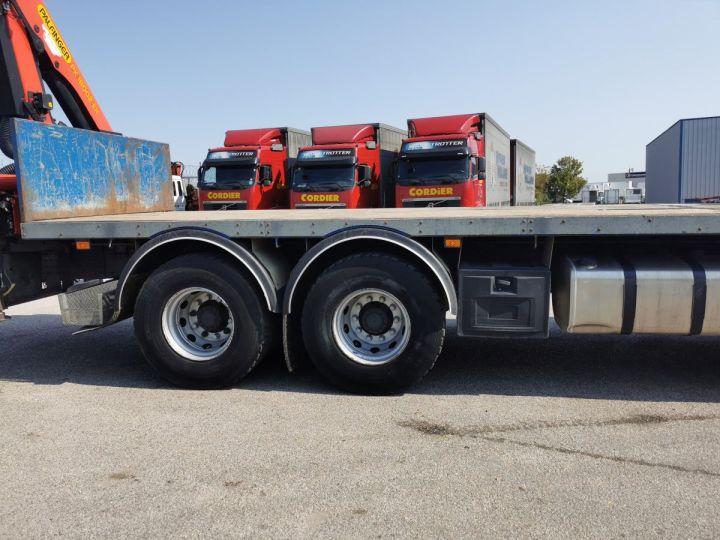 Trucks Volvo FMX Platform body + crane FMX 13L 500 6X4 EURO 6 BLEU - 3