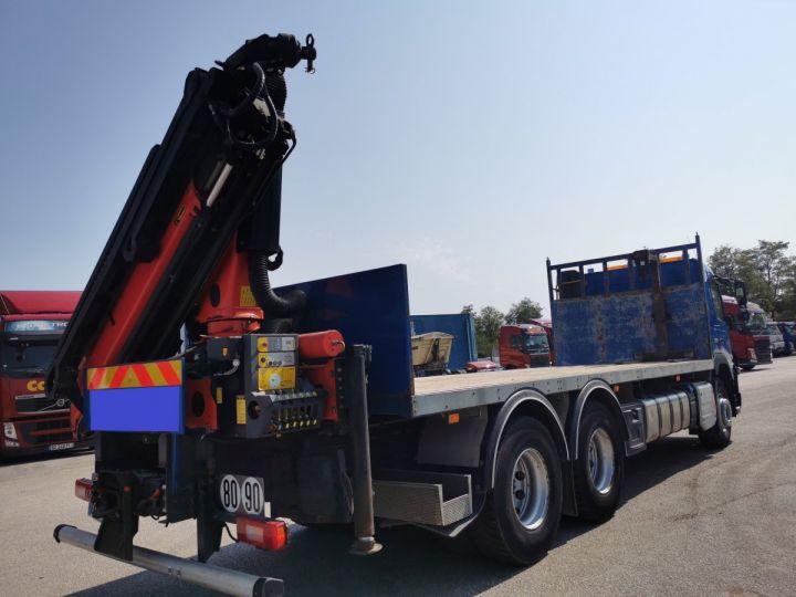 Trucks Volvo FMX Platform body + crane FMX 13L 500 6X4 EURO 6 BLEU - 4