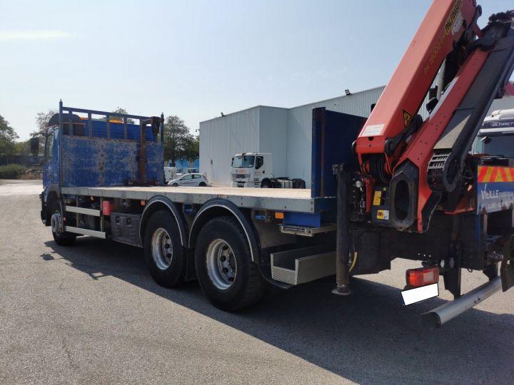 Trucks Volvo FMX Platform body + crane FMX 13L 500 6X4 EURO 6 BLEU - 7
