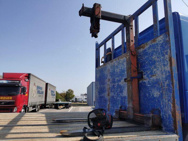 Trucks Volvo FMX Platform body + crane FMX 13L 500 6X4 EURO 6 BLEU - 8