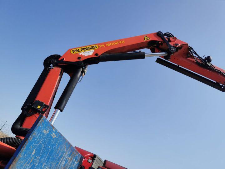 Trucks Volvo FMX Platform body + crane FMX 13L 500 6X4 EURO 6 BLEU - 9