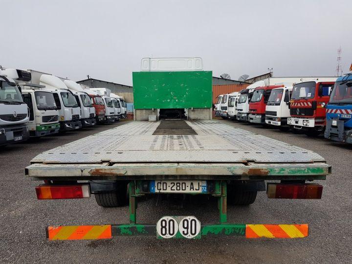 Trucks Daf XF105 Platform body 510 6x2/4 SPACECAB - Chassis 8 m. BLANC et VERT - 6
