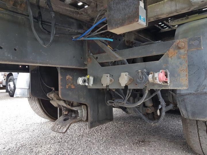 Trucks Daf XF105 Platform body 510 6x2/4 SPACECAB - Chassis 8 m. BLANC et VERT - 15