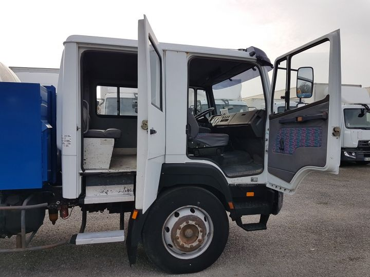 Trucks Mercedes LK Public roads body 1214 - POINT-A-TEMPS RINCHEVAL BLANC - BLEU - 17