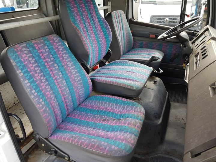 Trucks Mercedes LK Public roads body 1214 - POINT-A-TEMPS RINCHEVAL BLANC - BLEU - 19