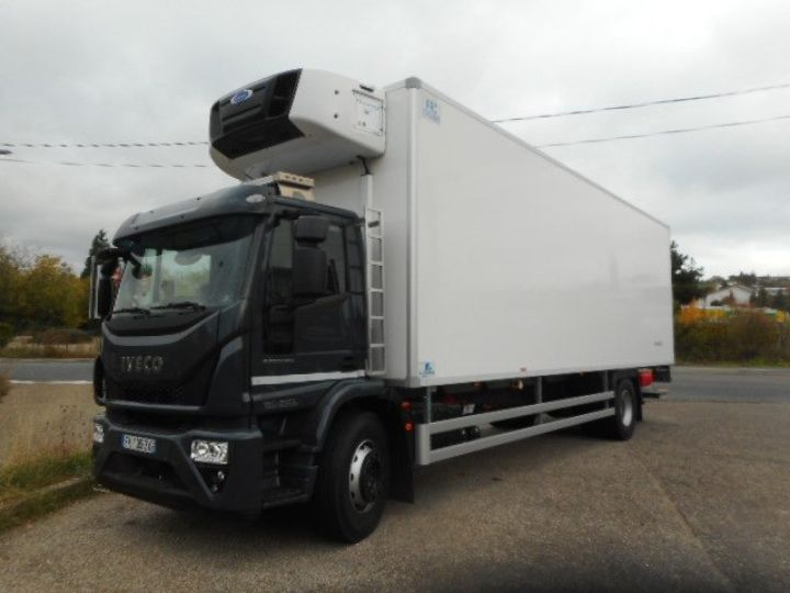 Trucks Iveco EuroCargo Refrigerated body ML190 EL 28 CAISSE FRIGORIFIQUE PORTE VIANDES  - 1