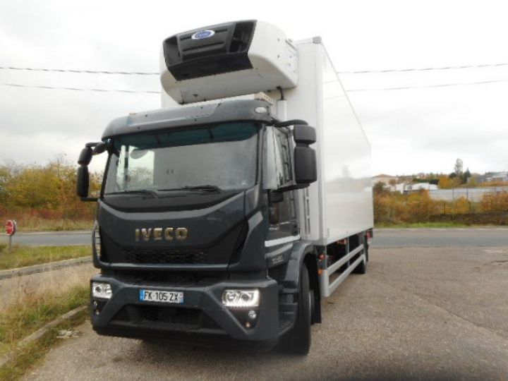 Trucks Iveco EuroCargo Refrigerated body ML190 EL 28 CAISSE FRIGORIFIQUE PORTE VIANDES  - 2
